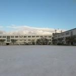 粟津中学校校舎耐震改修