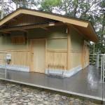 立木山安養寺便所増築
